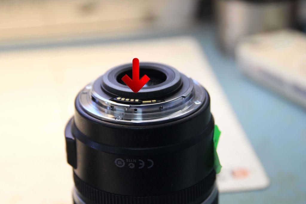 Canon Fehlermeldung 01